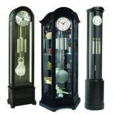 Черные напольные часы