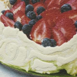 Дизайнерская картина Династия 05-004-04 Клубничный десерт