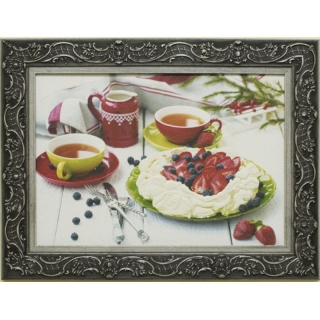 Дизайнерская картина Династия 05-004-09 Клубничный десерт