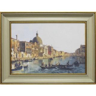 Дизайнерская картина Династия 05-016-03 Гранд-канал Венеции