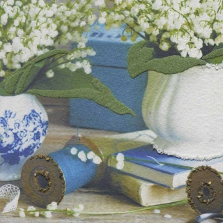 Дизайнерская картина Династия 05-033-09 Утренние ландыши