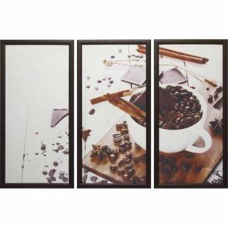 Модульная картина Династия 06-031-03 Кофе с корицей