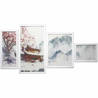 Модульная картина Династия 06-083-06 Зима в Китае