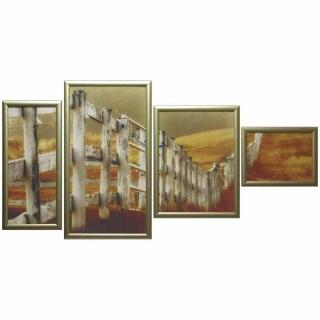 Модульная картина Династия 06-092-06 Деревенские просторы
