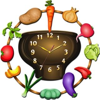 """Настенные часы Tiarella """"Кухня-1"""""""