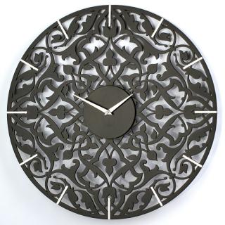 Настенные часы jclock3 JC11-50/60/70/80-B порта (черные)