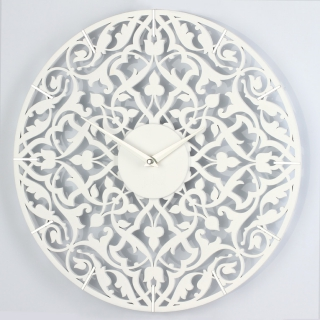 Настенные часы jclock3 JC11-50/60/70/80-W порта (белые)