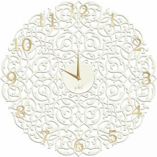 Настенные часы Икониум 50 см (белые) цифры