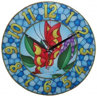 """Настенные часы Tiarella """"Витраж-7"""""""