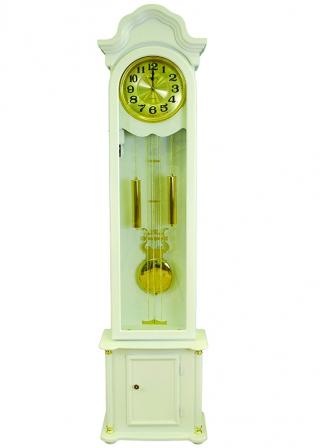 Белые напольные часы Sinix 660 ESW