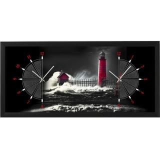 """Настенные часы из песка Династия 03-057 """"Маяк"""""""
