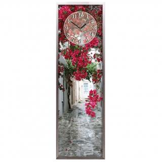 """Настенные часы из песка Династия 03-011 """"Уличные цветы"""""""