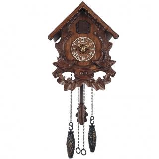 """Настенные часы с кукушкой Columbus CQ-056C """"Две птицы"""""""