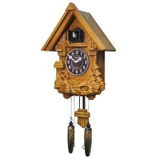 Настенные часы с кукушкой 693 W b/c