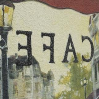 Дизайнерская картина Династия 05-001-07 Завтрак в кафе