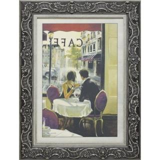 Дизайнерская картина Династия 05-001-09 Завтрак в кафе