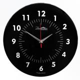 Настенные часы из стекла Династия 01-077 Черные