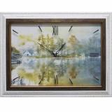 Часы-картины Династия 04-011-11 Дом у озера