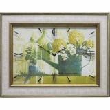 Часы-картины Династия 04-023-06 Зеленый натюрморт