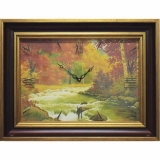 Часы-картины Династия 04-036-14 Осенний лес