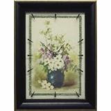 Часы-картины Династия 04-049-02 Цветы в вазе
