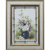 Часы-картины Династия 04-049-06 Цветы в вазе
