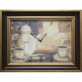 Часы-картины Династия 04-008-14 Кофе