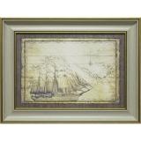 Дизайнерская картина Династия 05-007-03 Морская экспедиция