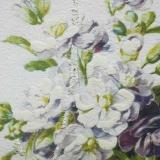 Дизайнерская картина Династия 05-024-03 Цветы в плетенной корзине