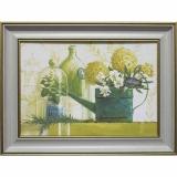 Дизайнерская картина Династия 05-035-03 Зеленый натюрморт
