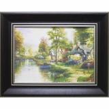 Дизайнерская картина Династия 05-045-10 Домик у реки