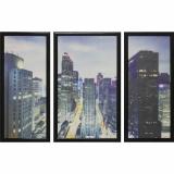 Модульная картина Династия 06-001-01 Ночь в Нью-Йорке