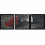 Модульная картина Династия 06-022-02 Красная роза