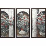 Модульная картина Династия 06-048-03 Герань