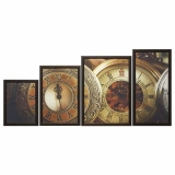 Модульная картина Династия 06-066-04 Часы