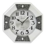 Настенные часы Sinix 1071NWA White