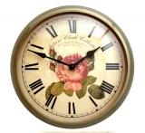 Настенные часы из металла B&S M 260-F