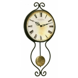 Настенные часы из металла Hermle 70800-002200