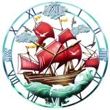 "Настенные часы Tiarella ""Парусник"""