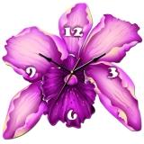 """Настенные часы Tiarella """"Орхидея"""""""