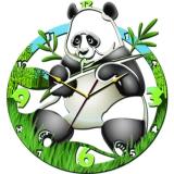 "Настенные часы Tiarella ""Панда"""