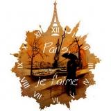 """Настенные часы Tiarella """"Париж"""""""