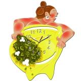 """Настенные часы Tiarella """"Баба баня"""""""