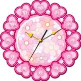 """Настенные часы Tiarella """"Мир прекрасен"""""""