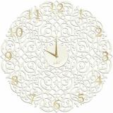 Настенные часы Икониум (белые) цифры