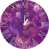 Настенные часы Jclock Джоко JC15-49f/h (Фиолетовый теплый)