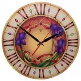 """Настенные часы Tiarella """"Витраж-1"""""""