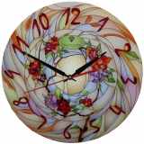"""Настенные часы Tiarella """"Витраж-2"""""""