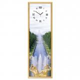 """Настенные часы из песка Династия 03-010 """"Петергоф"""""""