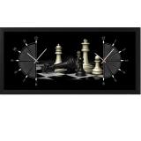 """Настенные часы из песка Династия 03-058 """"Шахматы"""""""